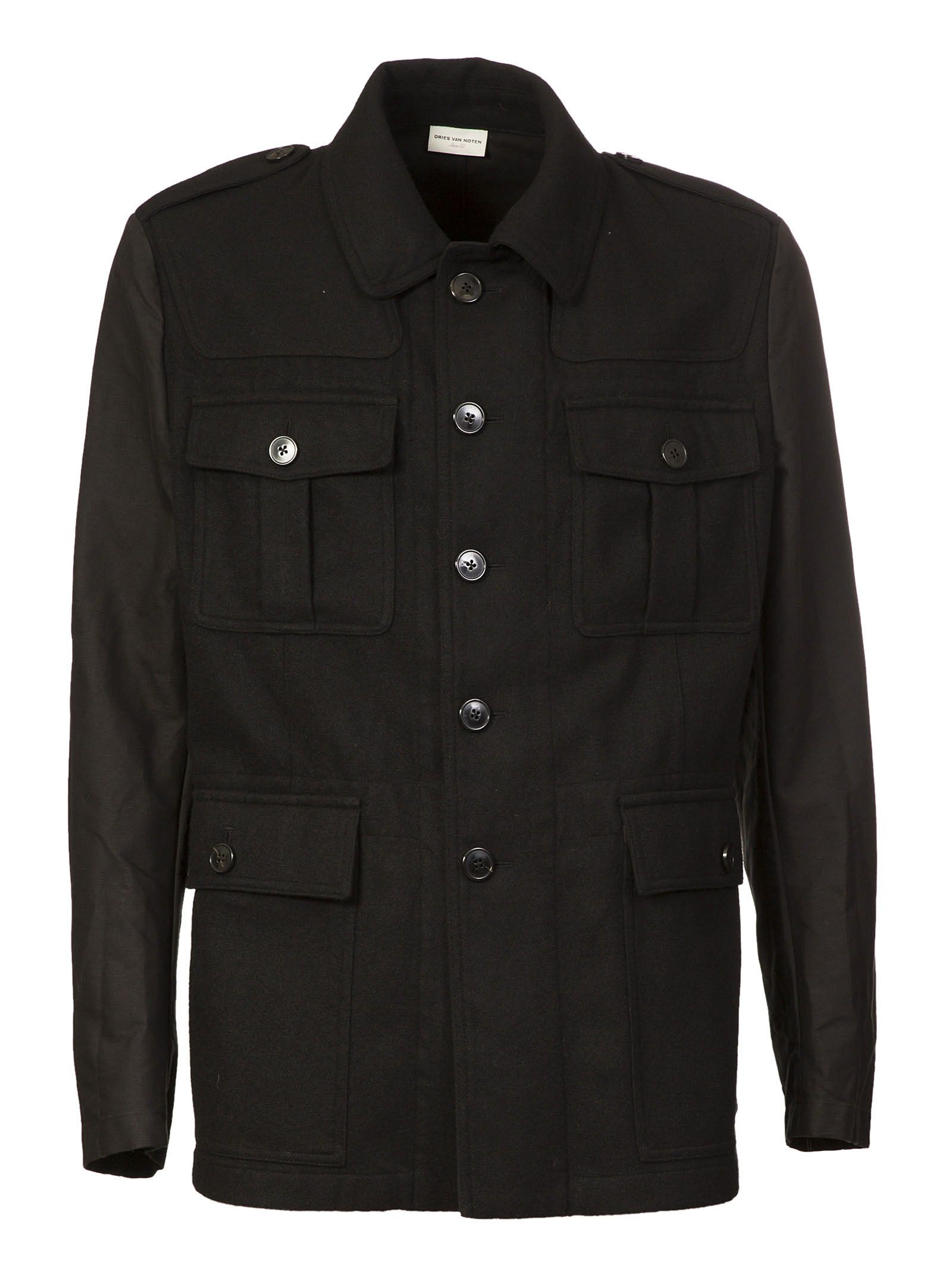 Dries Van Noten Patched Detail Jacket
