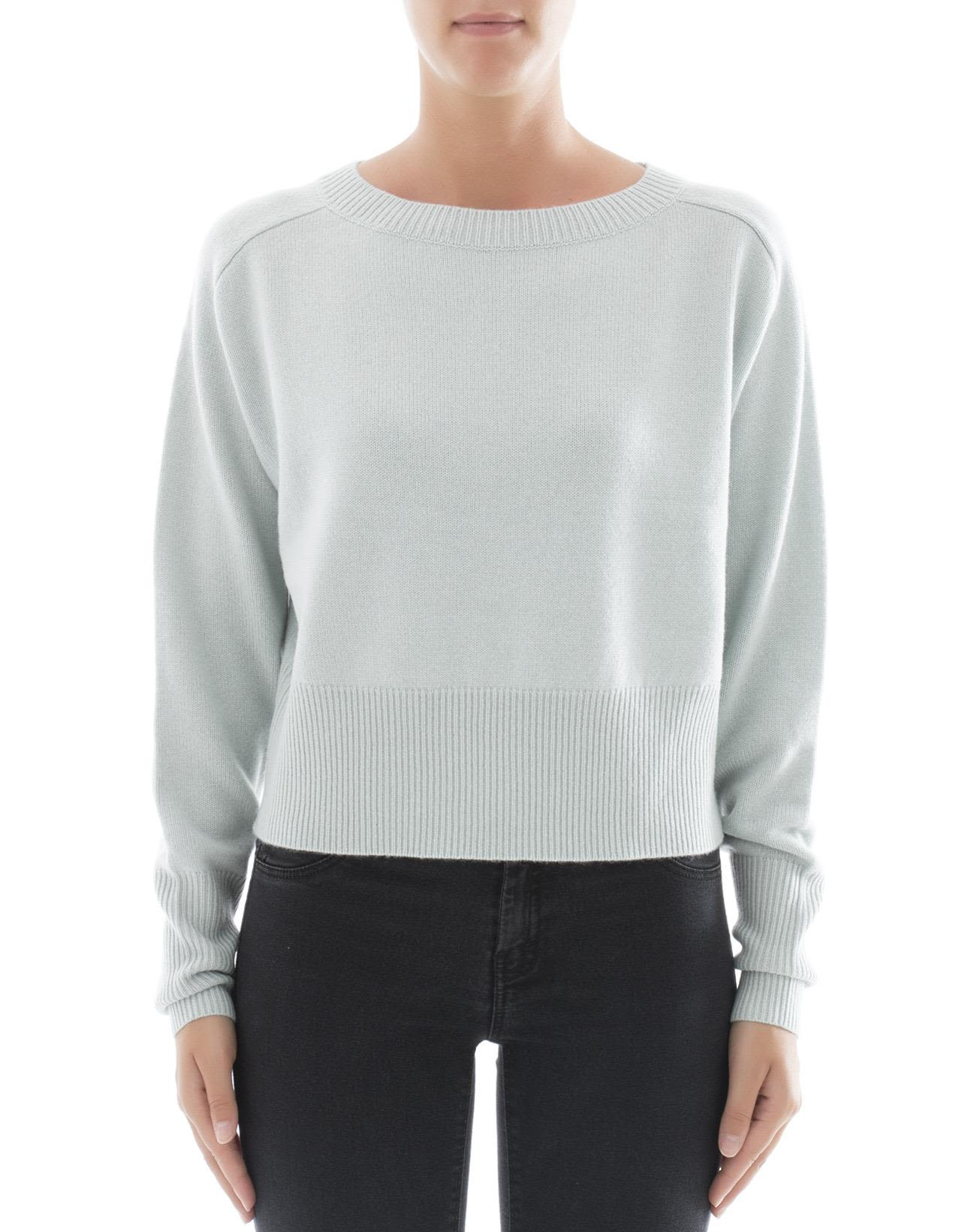 Light Blue Cachemire Sweatshirt