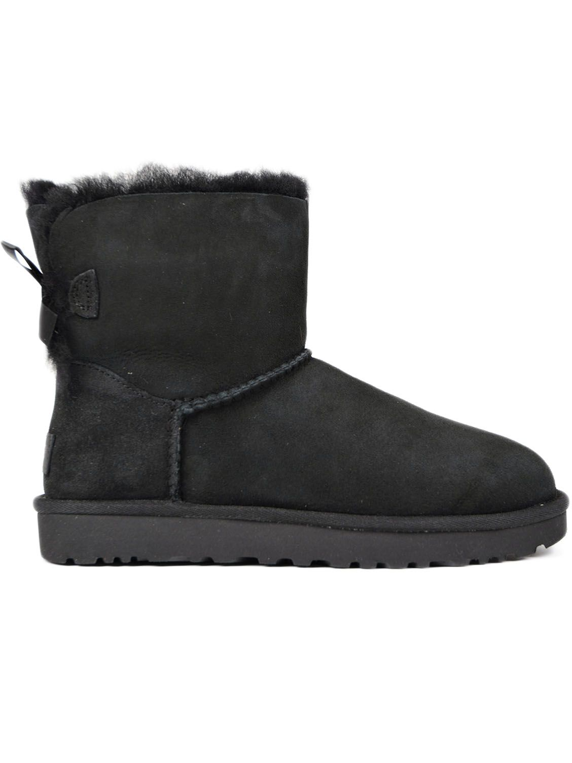 UGG Bailey Bow Ankle Boots