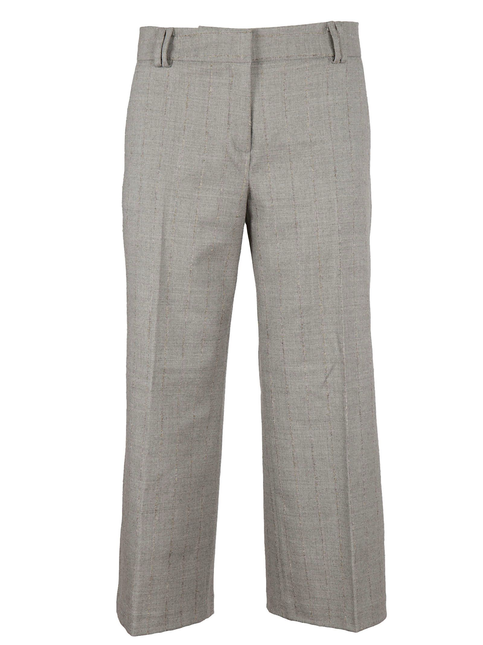 Barba Cropped Tailored Trousers