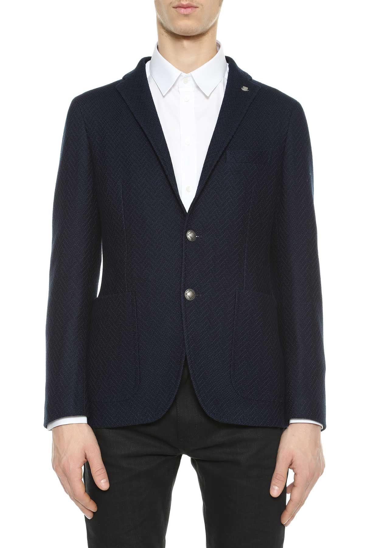 Tagliatore Chevron Jersey Jacket