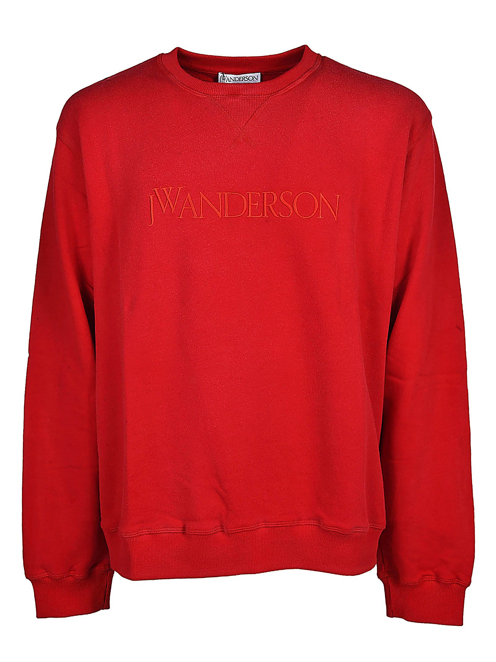 J.w Anderson Logo Print Sweatshirt