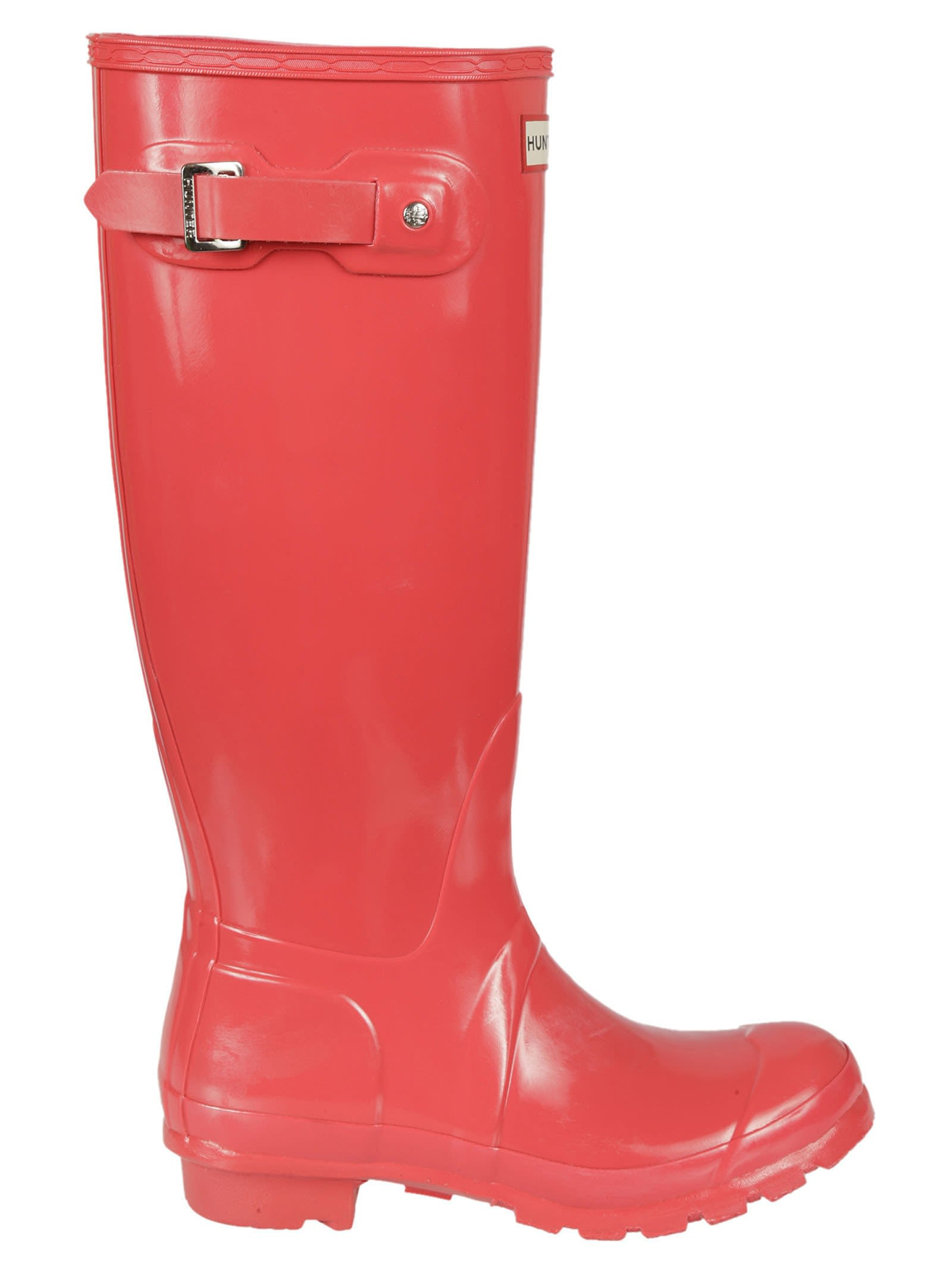 Hunter Coral Buckle Knee Lenght Rain Boots