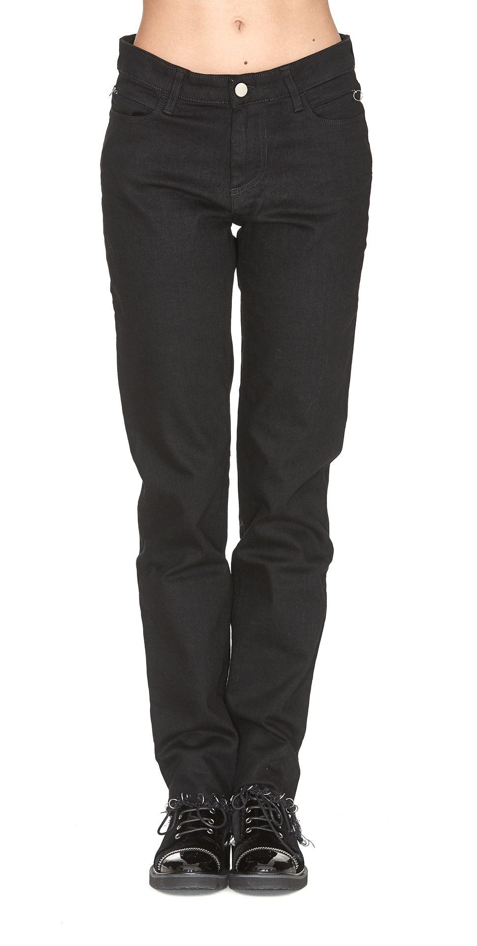 pierced slim fit jeans - Blue Alyx