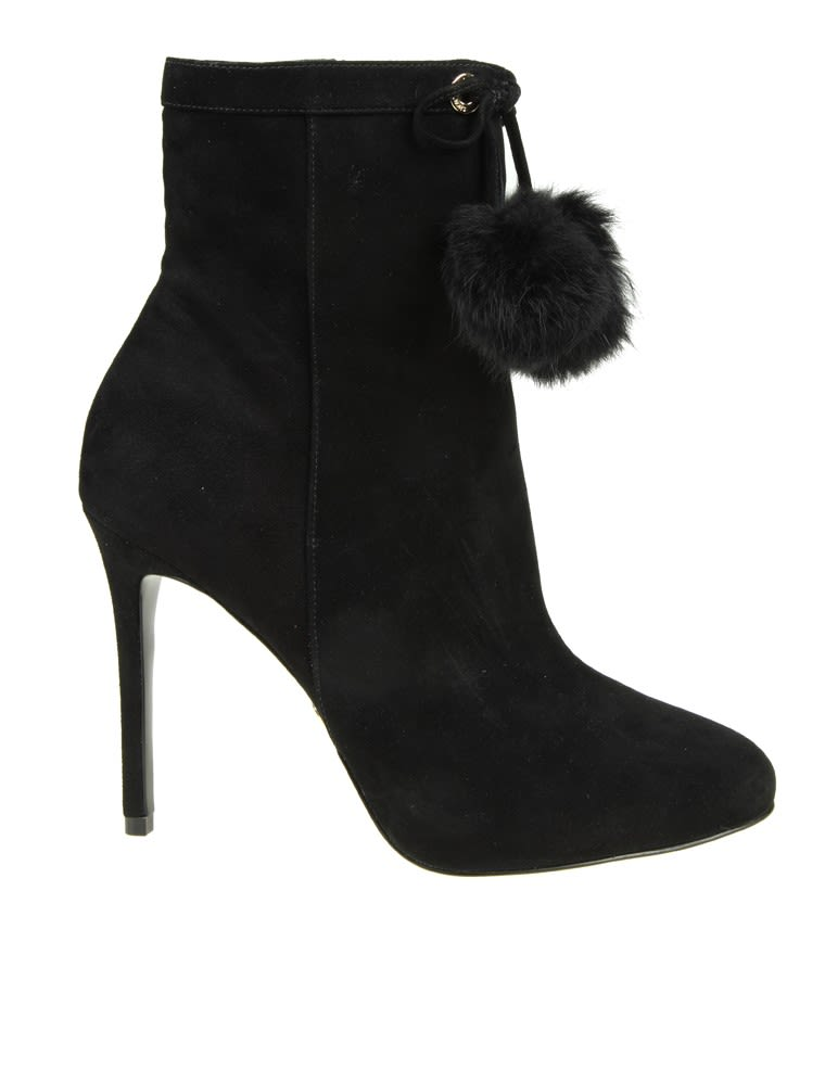 Michael Kors Boots Remi In Black Suede