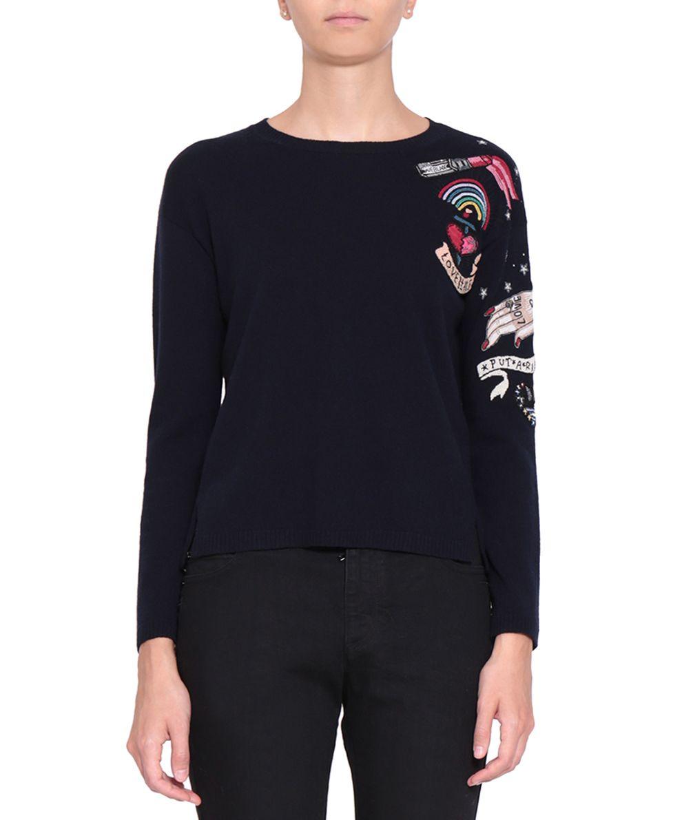 Valentino Love Blade Cashmere Sweater