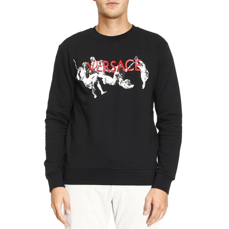 Sweatshirt Sweater Men Versace