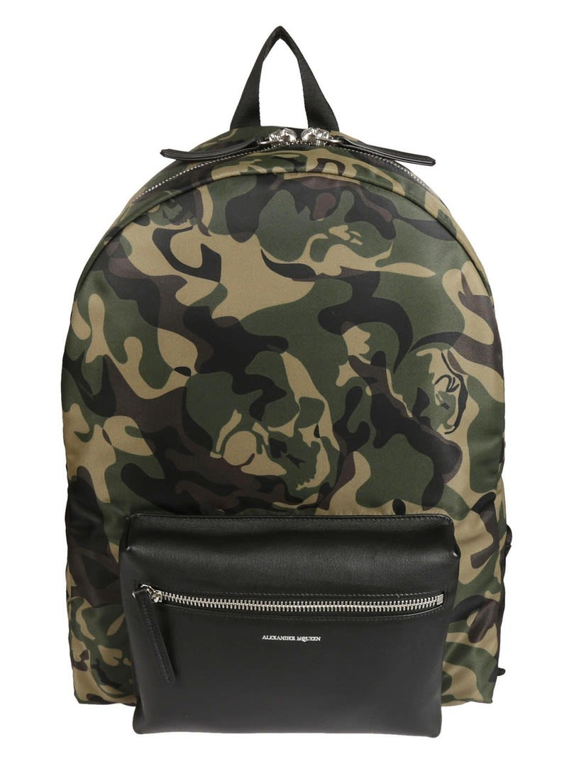 Alexander Mcqueen Camouflage Backpack