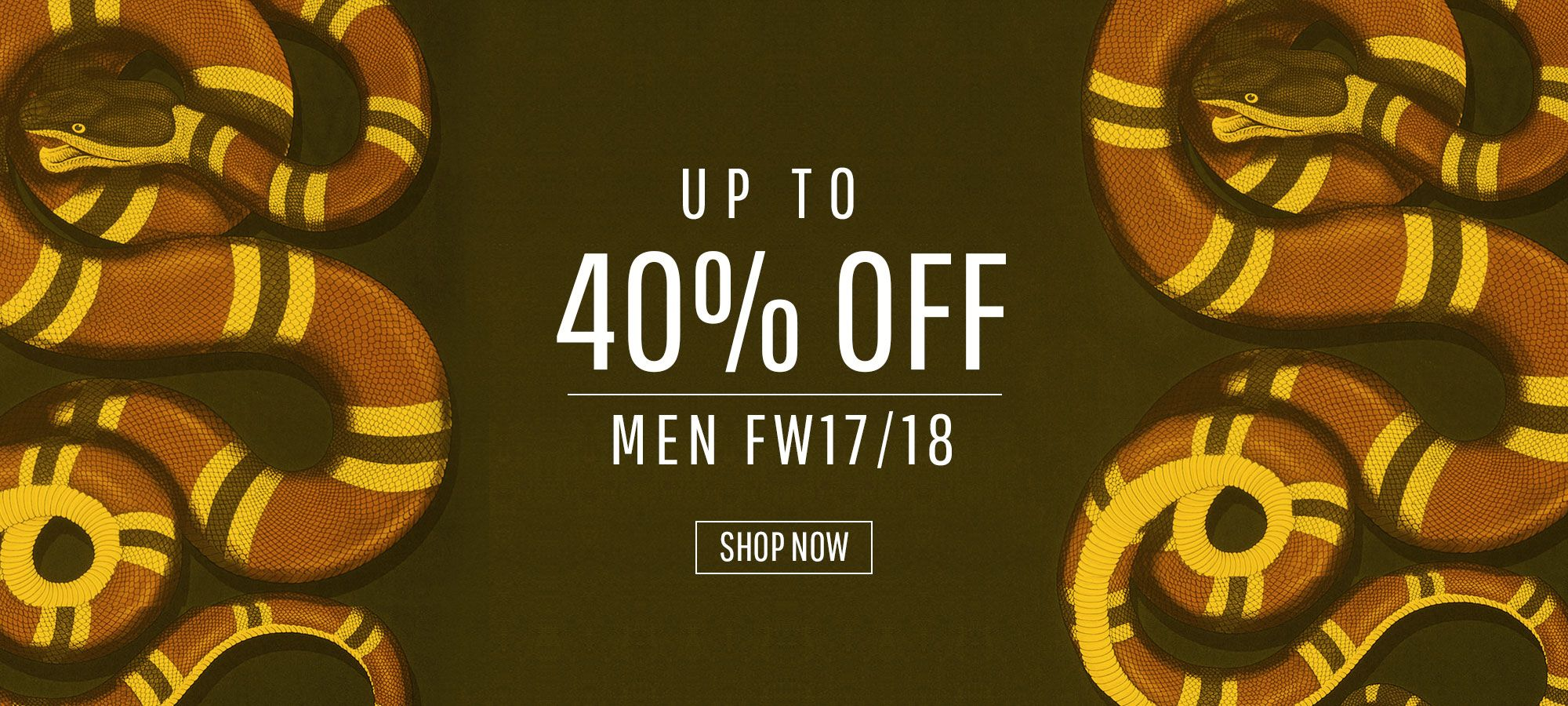 Sale Men - Fall Winter 2017