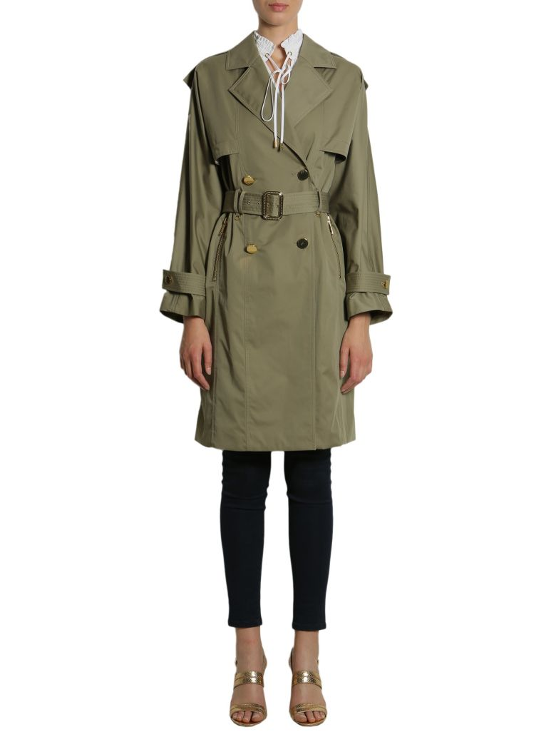 COTTON BLEND TRENCH COAT