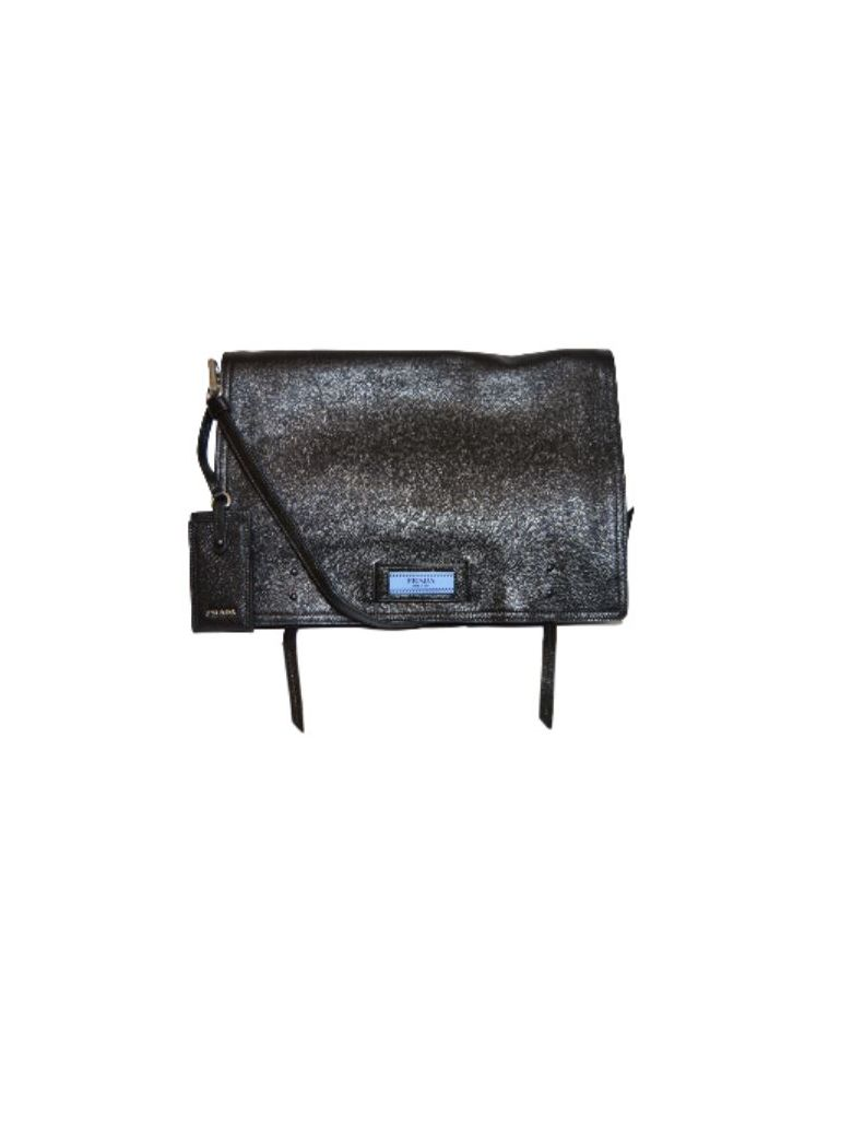 ETIQUETTE SHOULDER BAG
