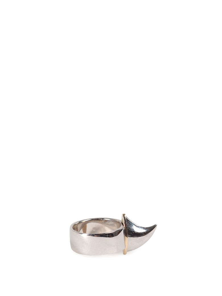 SHARK TOOTH BAND RING