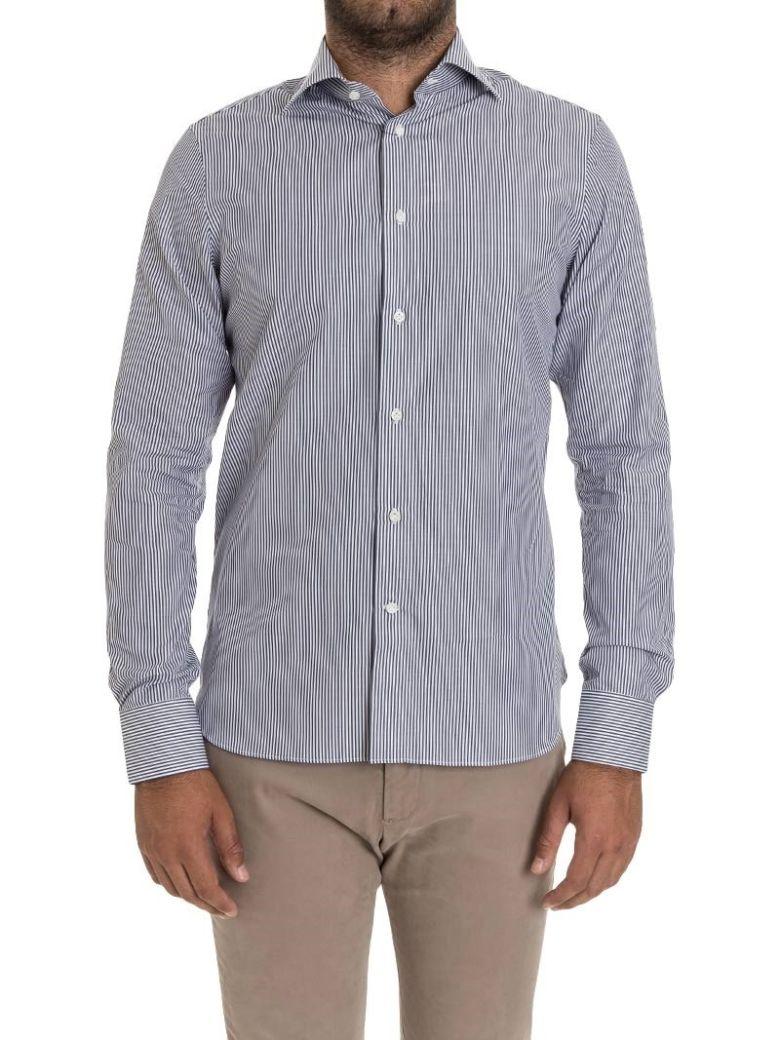G. INGLESE G Inglese Cotton Shirt in Blue