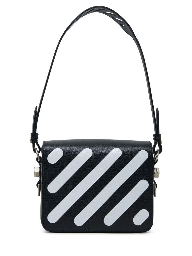 1dcdc43388fb7 Shop Off-White Off White Diag Square Flap Bag Black White