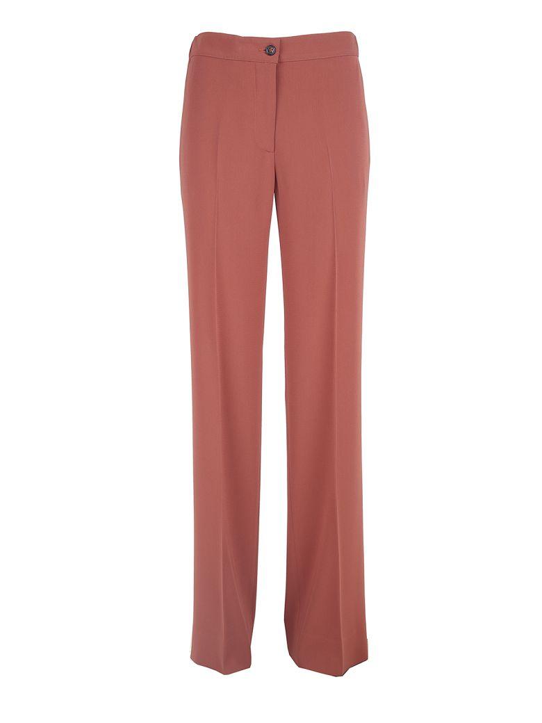 Wide-leg crepe trousers Alberto Biani yychzL