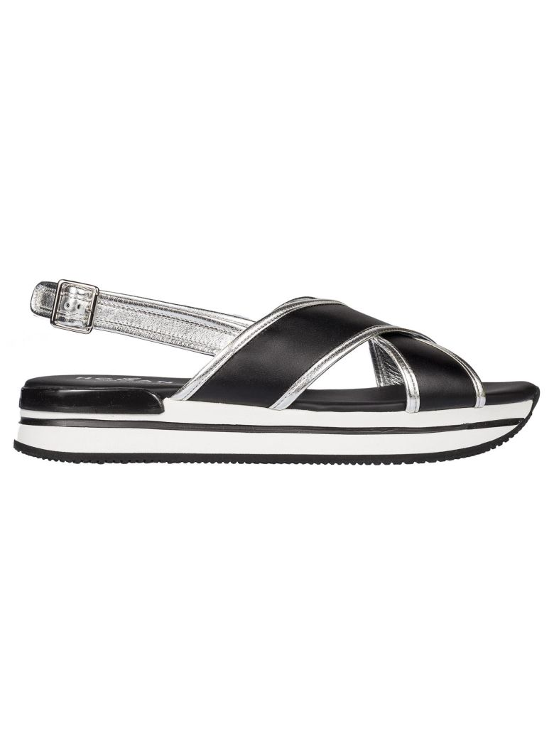 Hogan Crossover Platform Sandals Finishline Cheap Online Cheap Manchester Outlet Footlocker Finishline Cheap Sale With Paypal Cheap Buy whteneYNj8