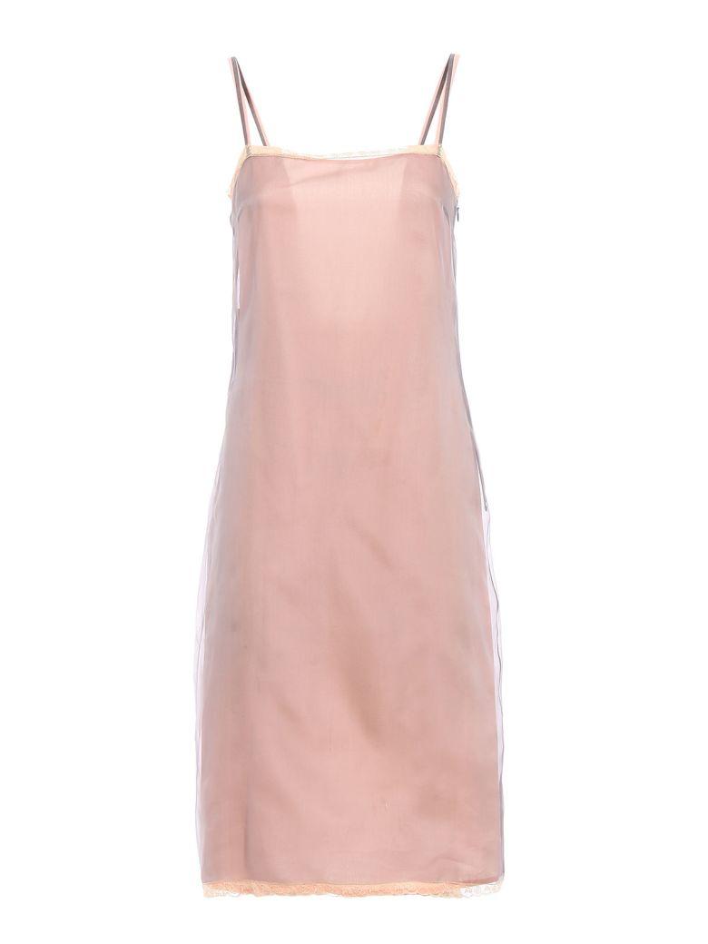 ORGANZA POPELINE DRESS