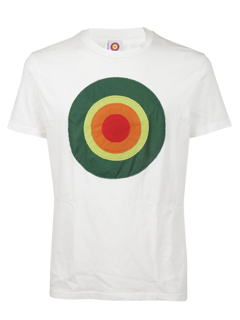 CIRCLED BE DIFFERENT PRINTED T-SHIRT