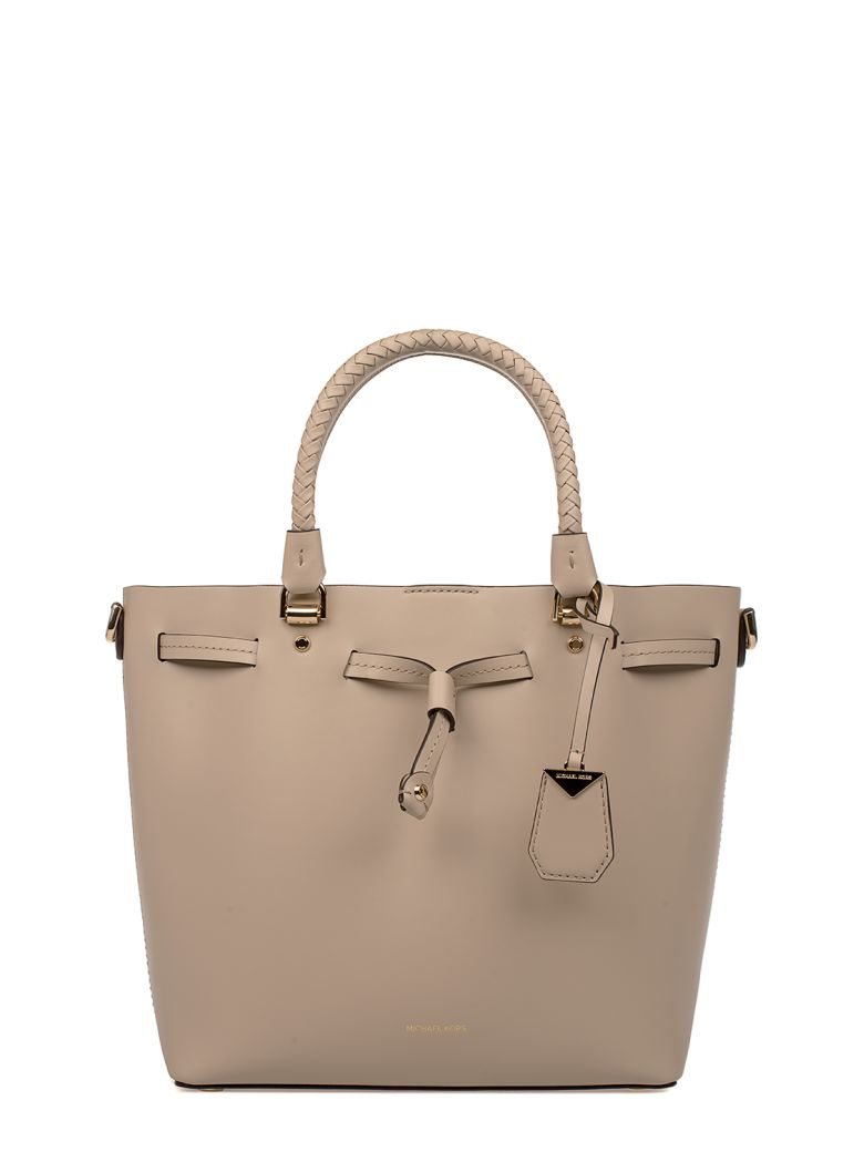 OAT BLAKELY LEATHER TOP HANDLE BAG