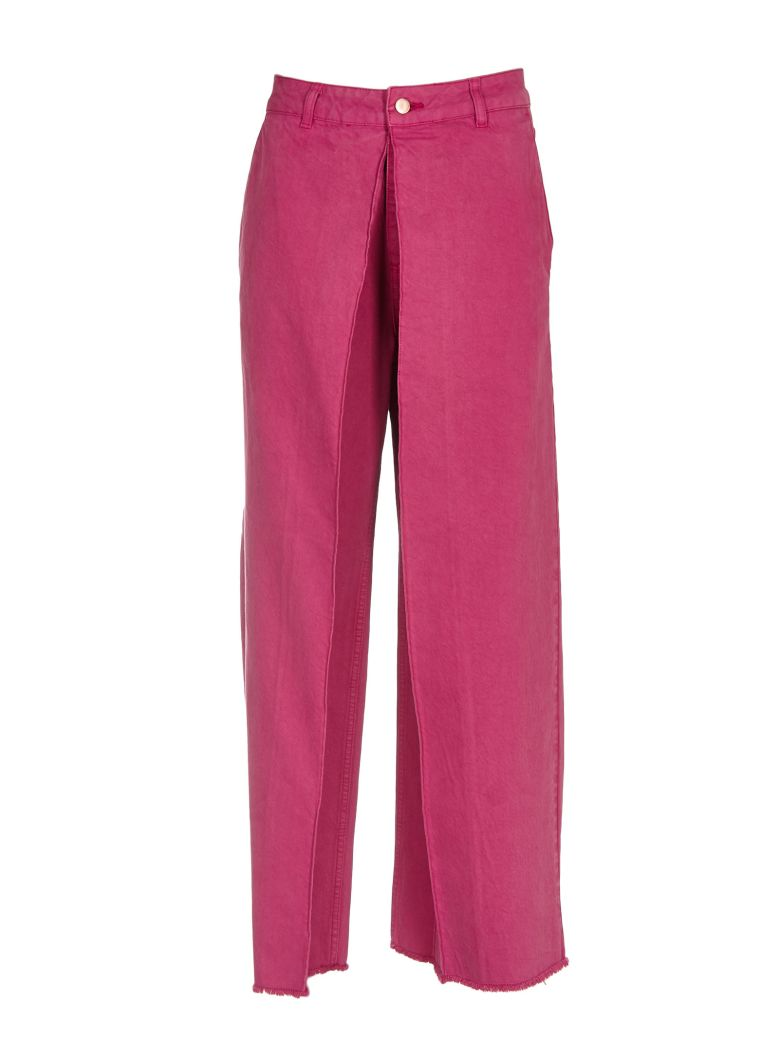 Aalto AALTO LAYERED WIDE TROUSERS