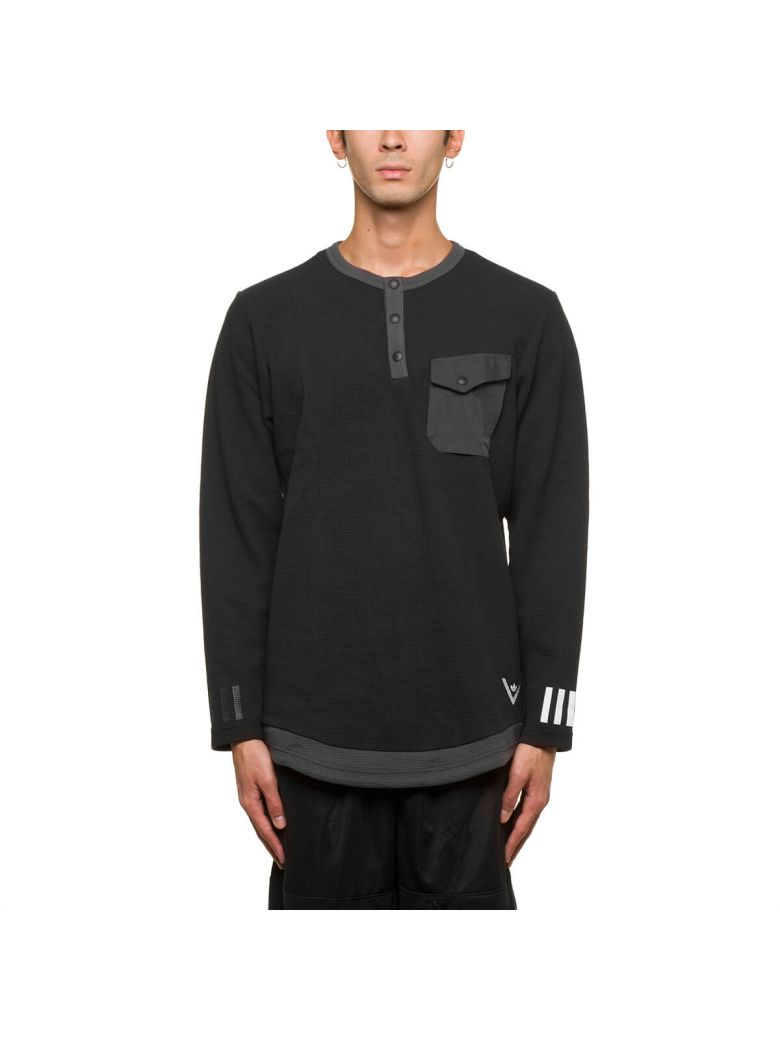 ADIDAS X WHITE MOUNTAINEERING Wm Ls Tee in Black