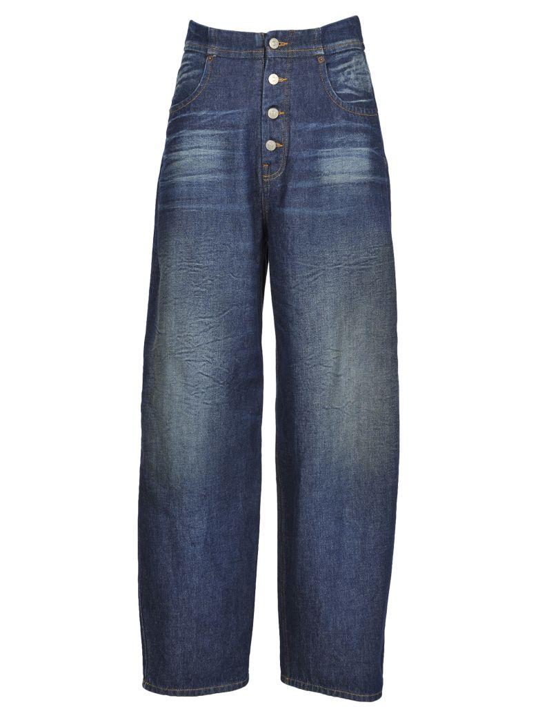 Mm6 Denim 5 Pocket in Blue