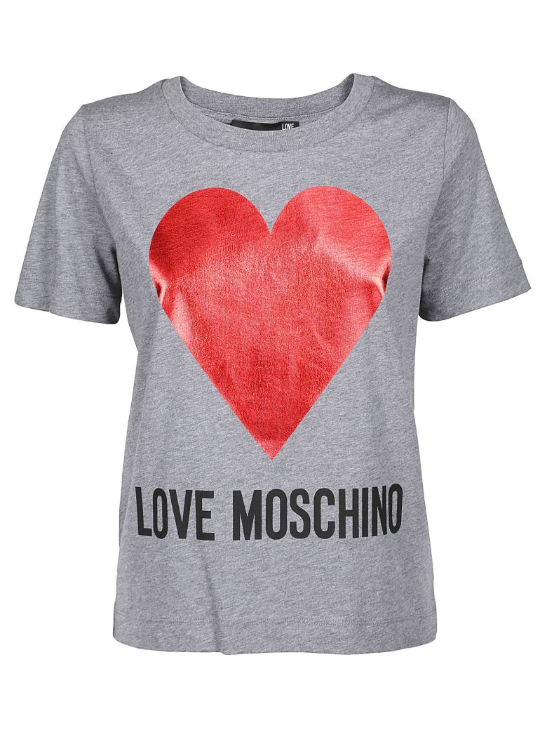 LOVE MOSCHINO HEART T-SHIRT