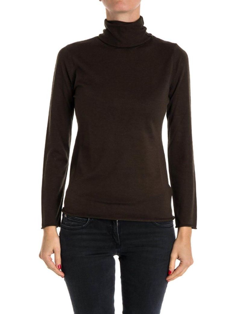 KANGRA CASHMERE SILK AND CASHMERE TURTLENECK SWEATER