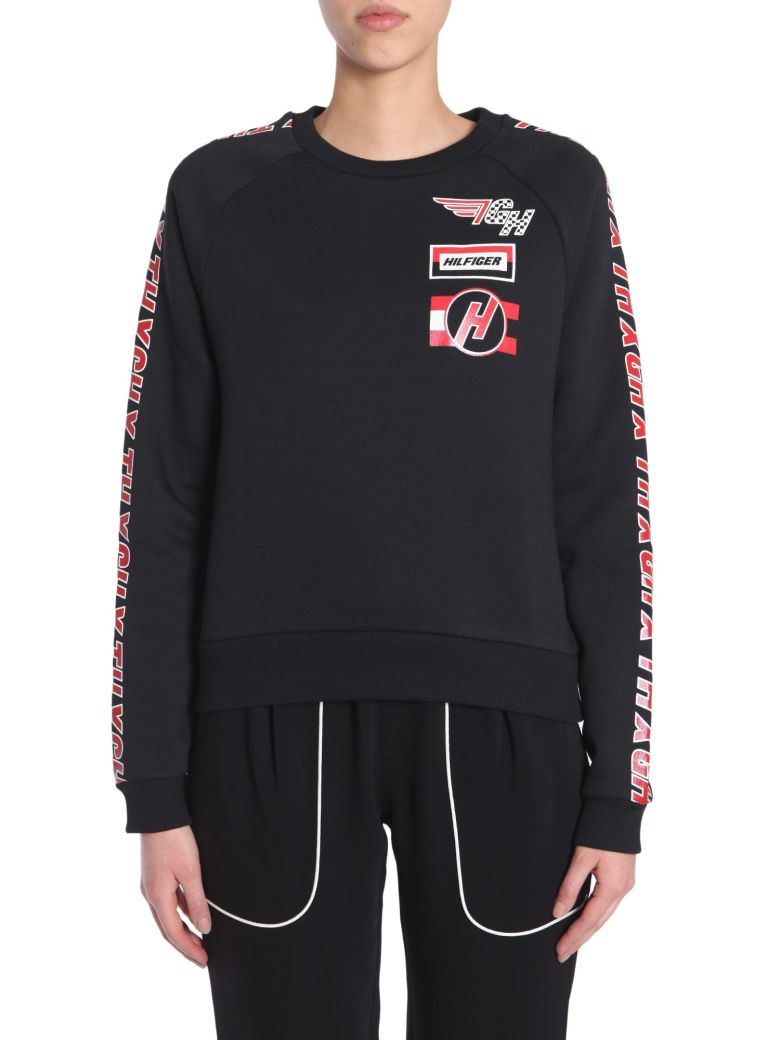 TOMMYXGIGI X Gigi Hadid Team Sweatshirt in Black