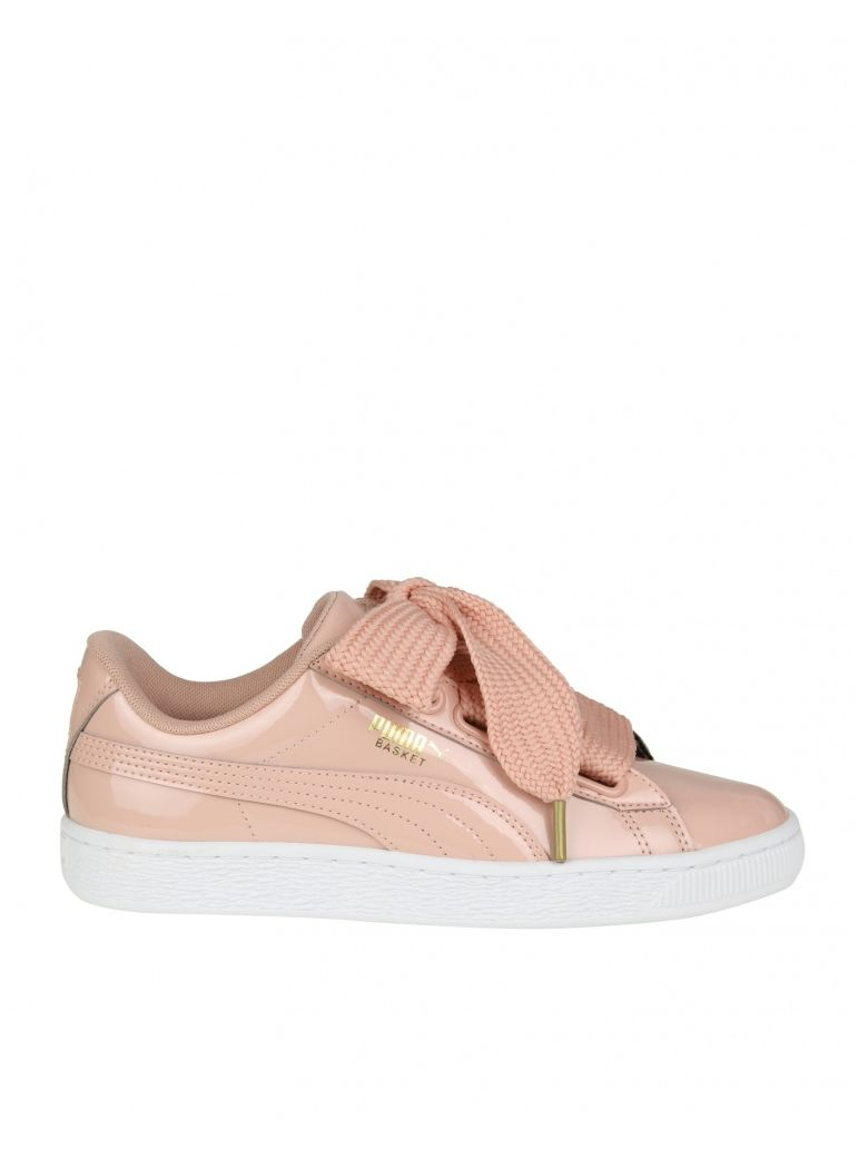 SNEAKERS BASKET HEART IN PINK PATENT