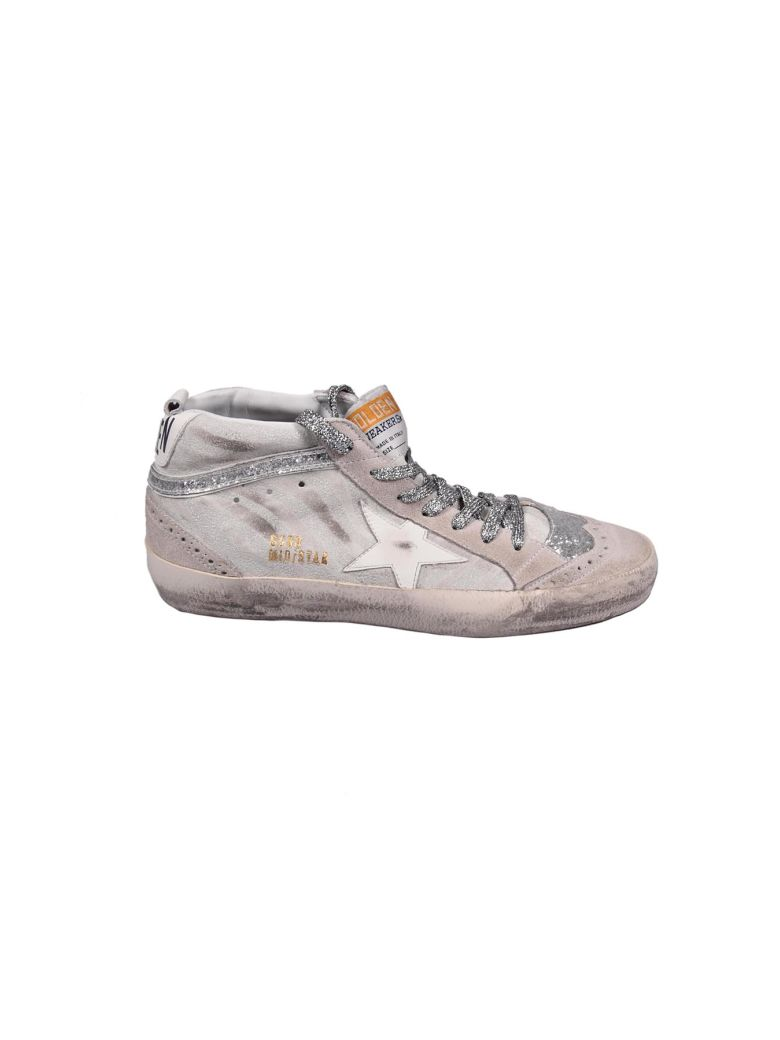 MID STAR SUEDE SNEAKERS WITH LEATHER