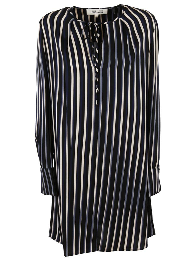 Diane Von Furstenberg  STRIPED DRESS