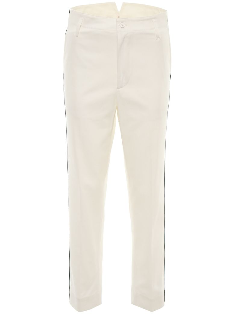 Golden Goose Chino Trousers - WHITE|Bianco