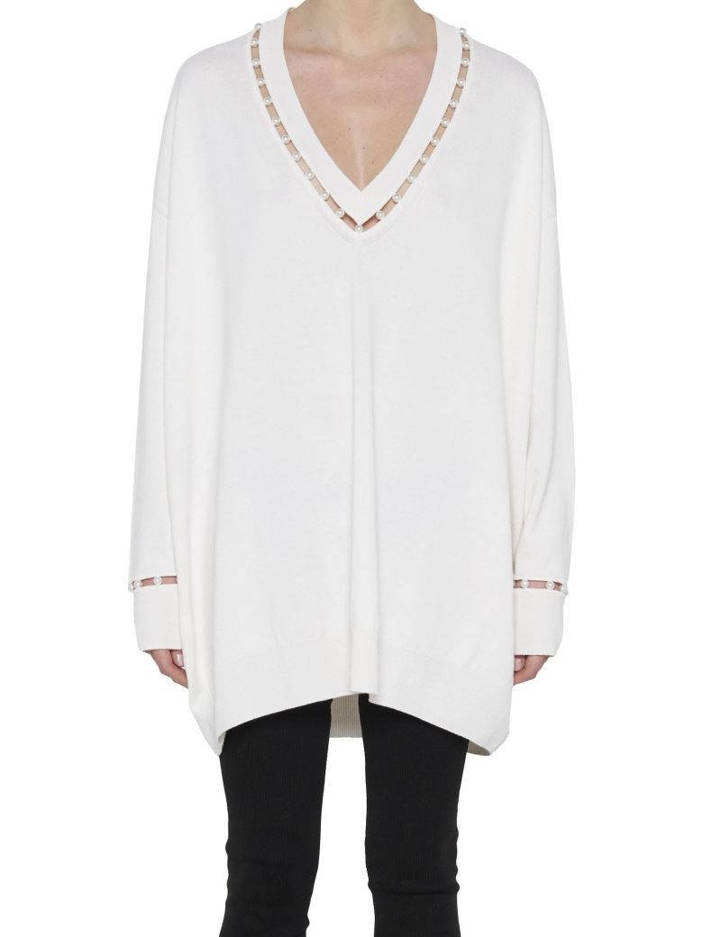 From China Sale Online Oversized cashmere sweater Givenchy Sale Online Cheap Free Shipping Exclusive Amazon Cheap Online Huge Surprise Jw0qJ