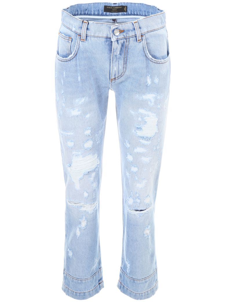 JEANS WITH HEART PATCH