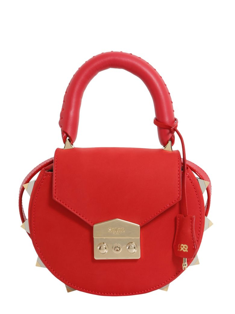 "SALAR ""Mimi"" Mini Bag in Red"