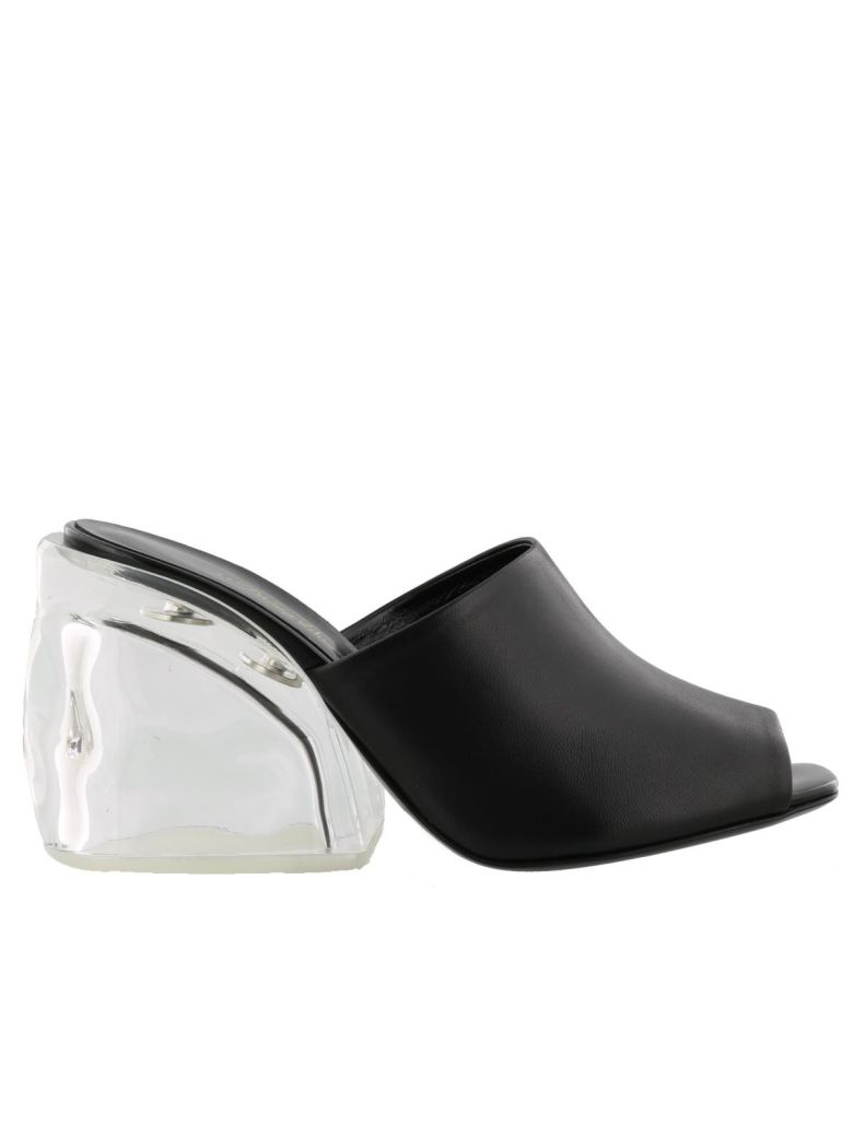 Woman Leather And Perspex Mules Black from THE OUTNET.COM