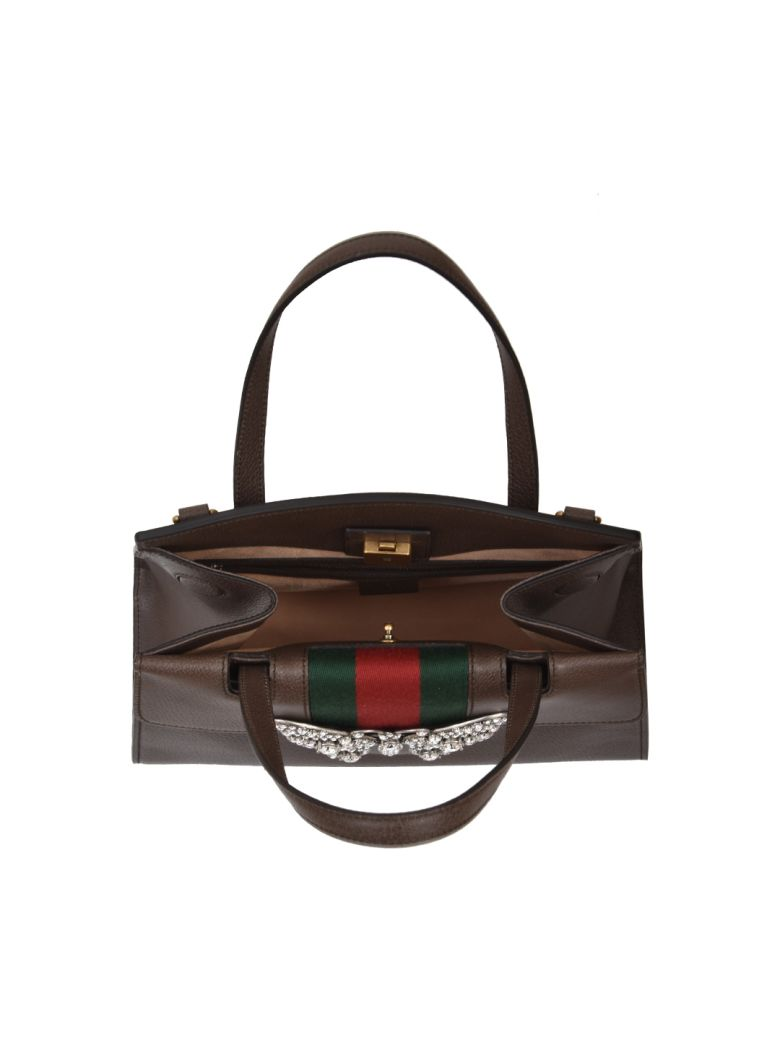 2392cb516 Gucci Totem Bag Butterfly. GUCCI Linea Totem Medium Leather ...