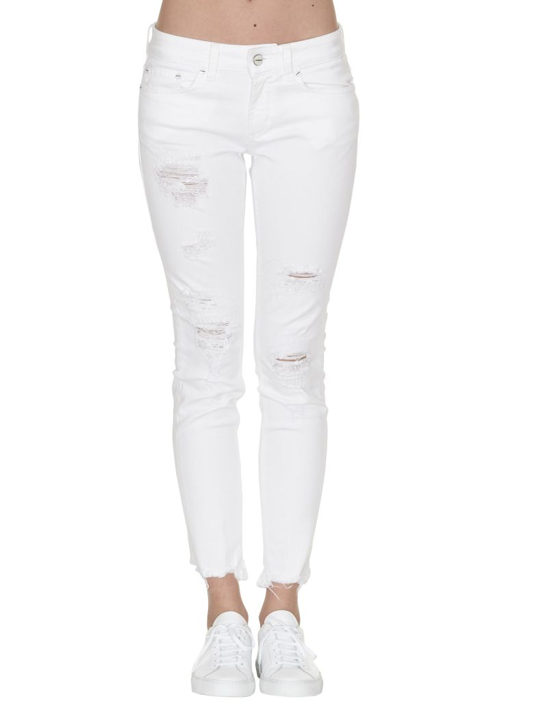 skinny jeans - White Dondup New Arrival Sale Online NiuxFq