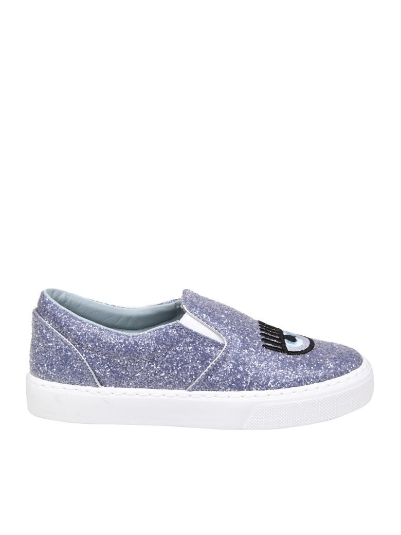 Chiara Ferragni Slip On Glitter logomania Cheap New fgZblMMeWZ