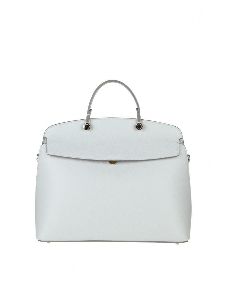 PIPER M HAND BAG IN ICE LEATHER