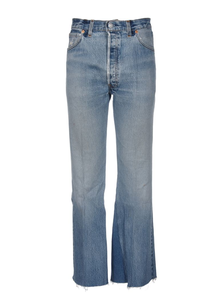 RE-DONE LEANDRA CROPPED JEANS