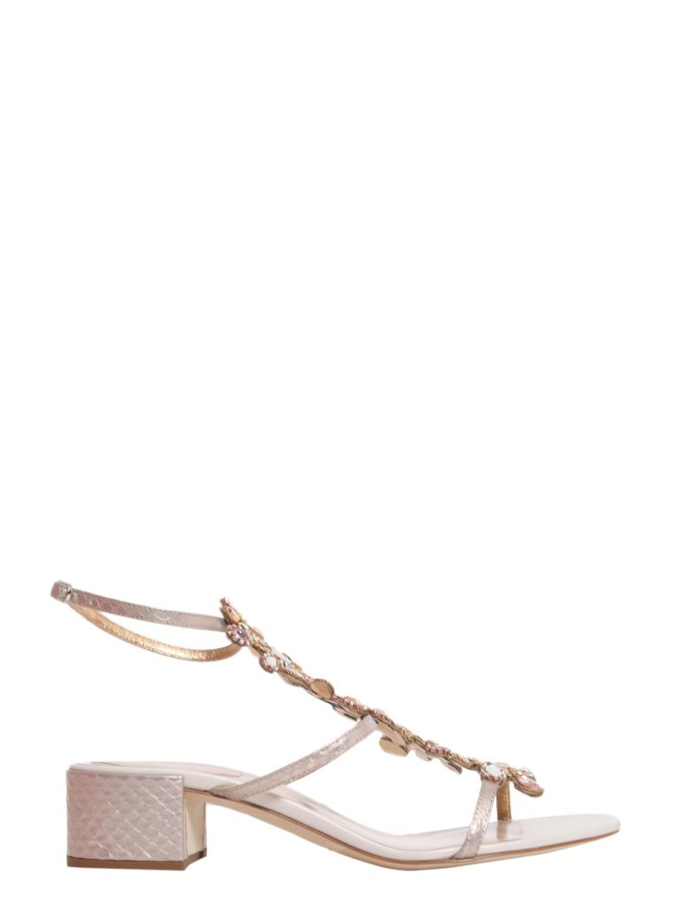 AYERS AND NAPPA LEATHER SANDALS