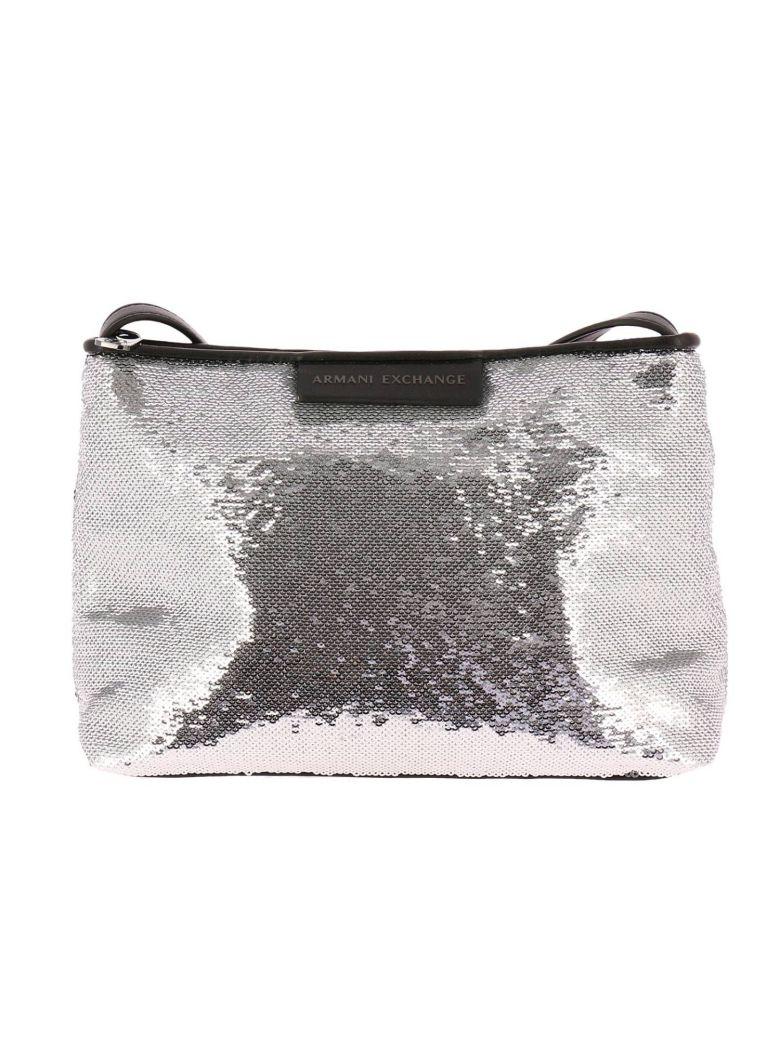 e75a5cbb3fc1 Armani Collezioni Mini Bag Shoulder Bag Women Armani Exchange In Silver