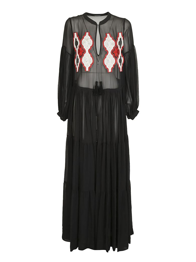 WANDERING EMBROIDERED LONG DRESS