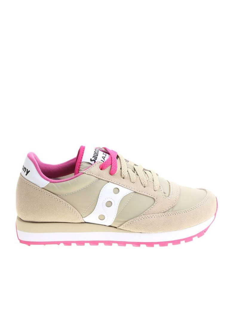 Beige and fuchsia Jazz Original sneakers Saucony 3nx5h2