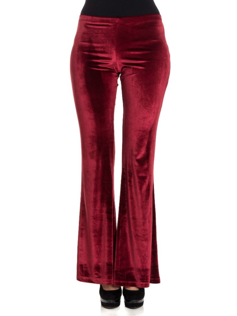 BLACK CORAL Casual Pants in Red