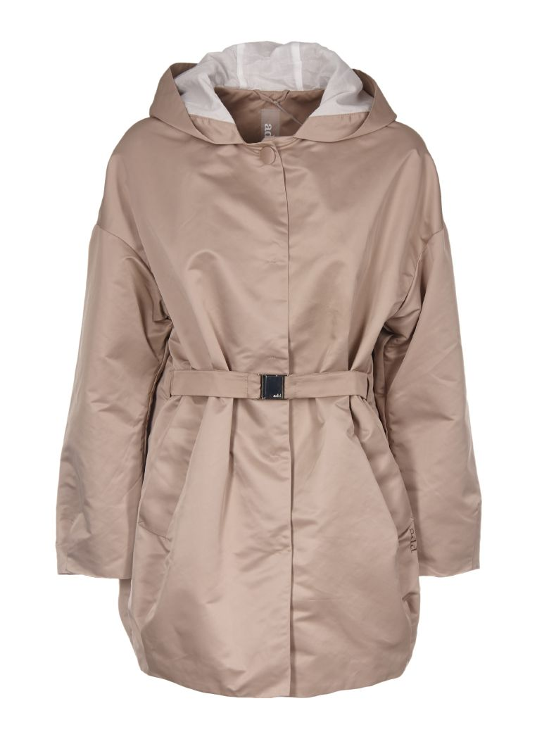 ADD BELTED WINDPROOF COAT