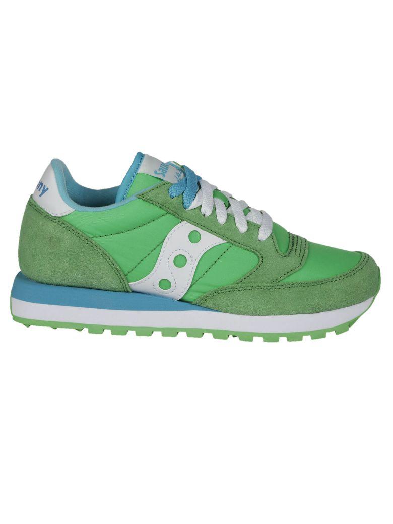 SAUCONY Women'S Shoes Suede Trainers Sneakers Jazz Original in Green