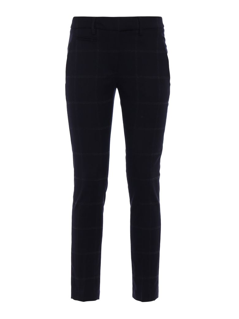 PERFECT PRINCE OF WALES TROUSERS